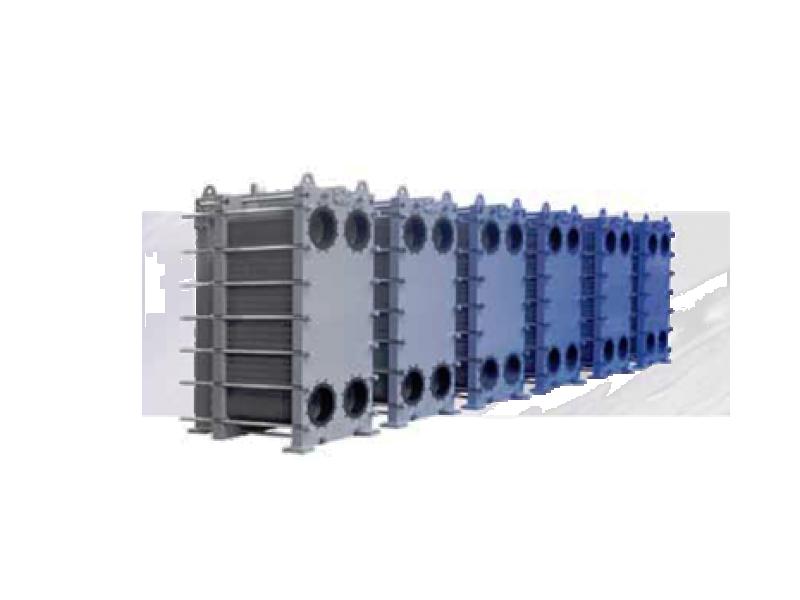 Intercambiadores de calor de placas atornillados de funke - Placas de calor ...